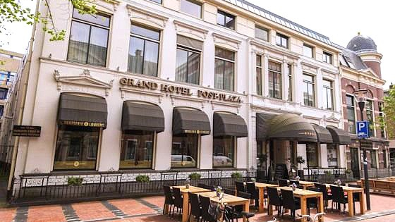 Post-Plaza Hotel & Grand Café in Leeuwarden