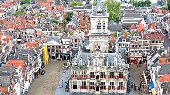 Rathaus von Delft